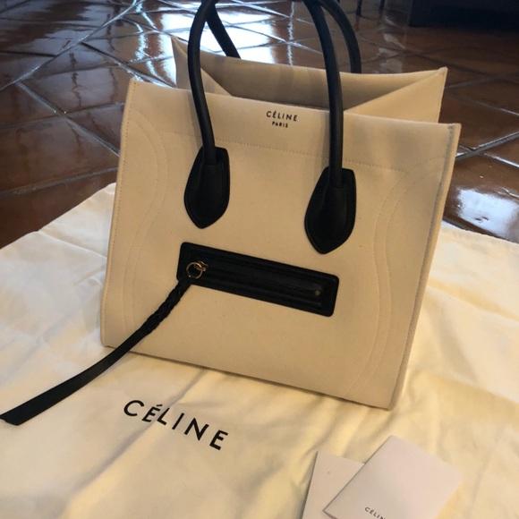 c1323cb814 Celine Handbags - Celine Medium Luggage Phantom Tote in Canvas